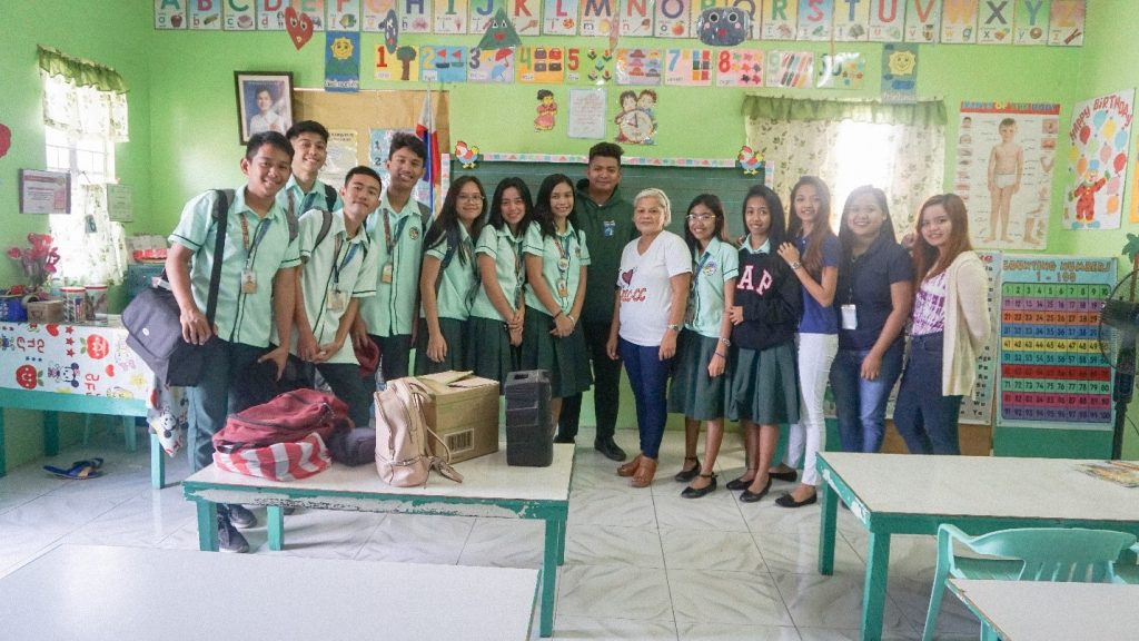MINDS Club conducts reading activity for National Reading Month 2019